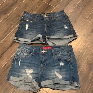 Pants - Jean shorts bundle